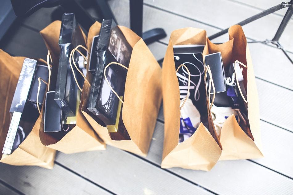 shopping sac boutique