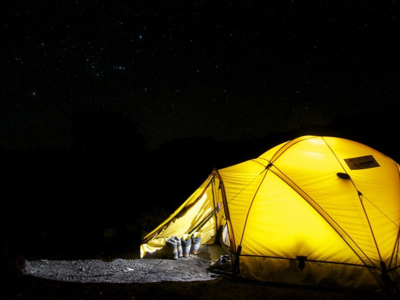 Deux critères à considérer lors du choix d'une tente