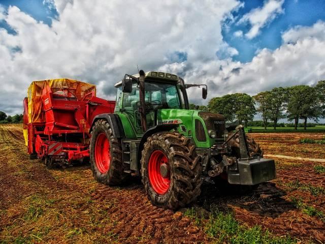 Agriculture et tracteur