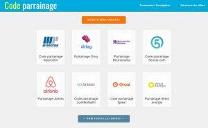 Présentation du site Code-parrainage.net
