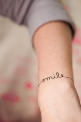 tatouage smile
