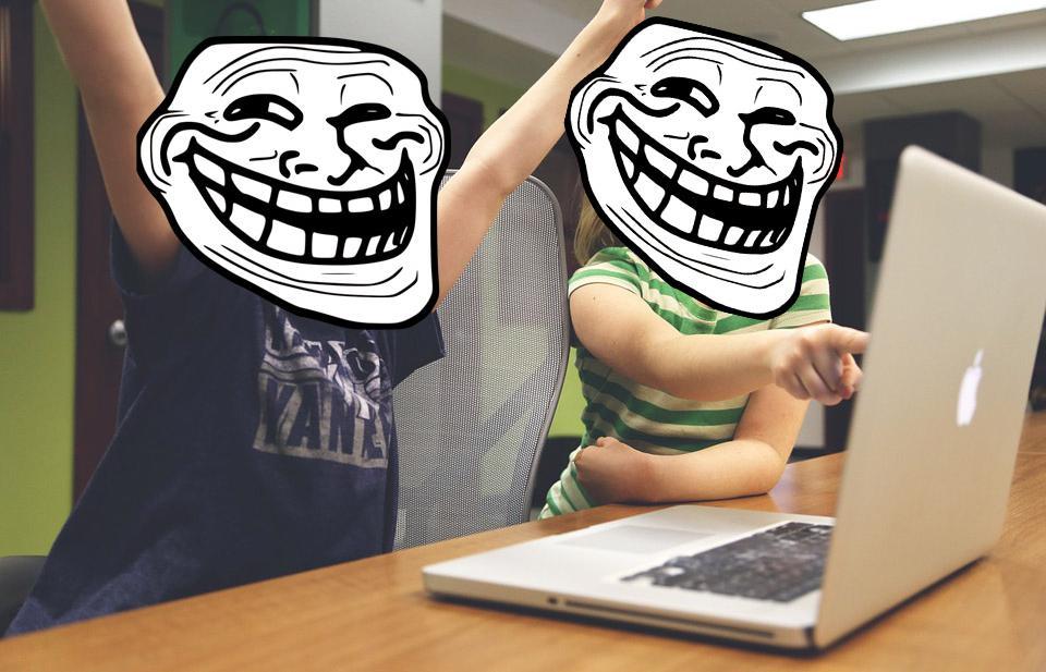 troll sur internet