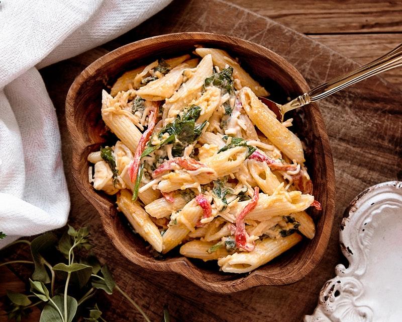 Toutes les formes de pâtes : cannellonis, cappelli, lasagnes, macaronis...